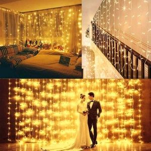 BUNDLE AND SAVE Waterfall String Light 3m L x 2m H